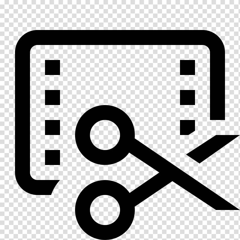 Video editing Symbol Computer Icons , trim transparent.