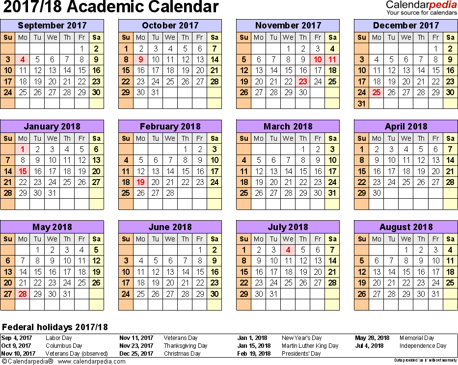 school calendar template 2015 2020.