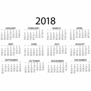 Calendar Clipart Number.