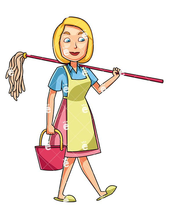 Cleaning cartoon clipart images gallery for free download.