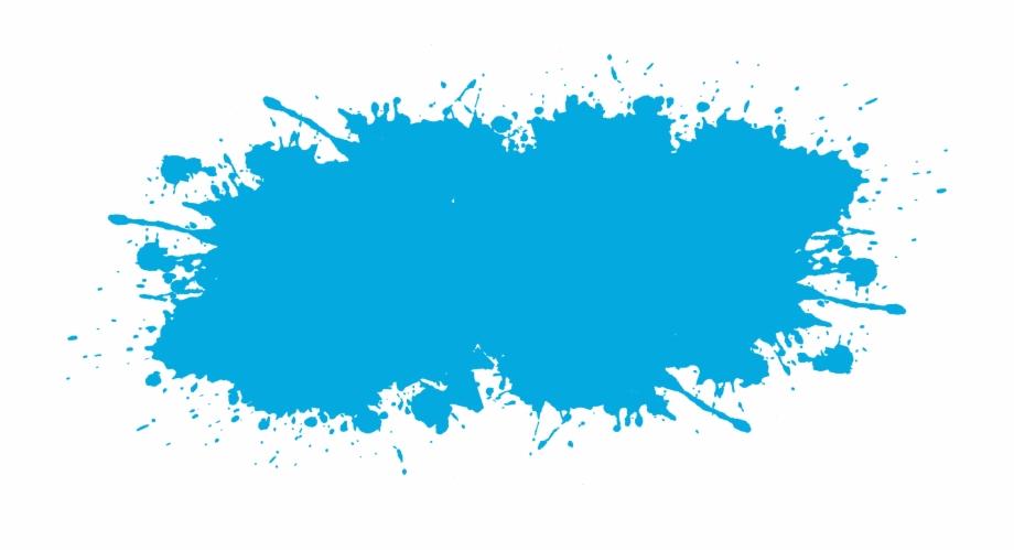Blue Sky Effect Watercolor Euclidean Vector Ink Clipart.