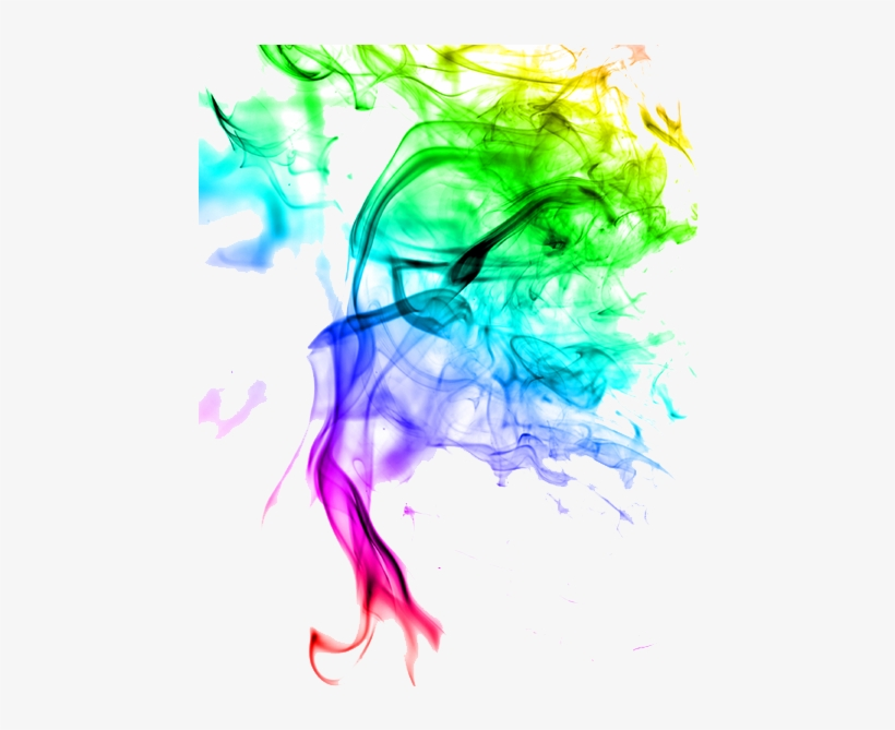 Colored Smoke Png Clipart.