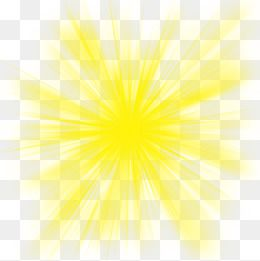 Yellow Light Radiation Effect.