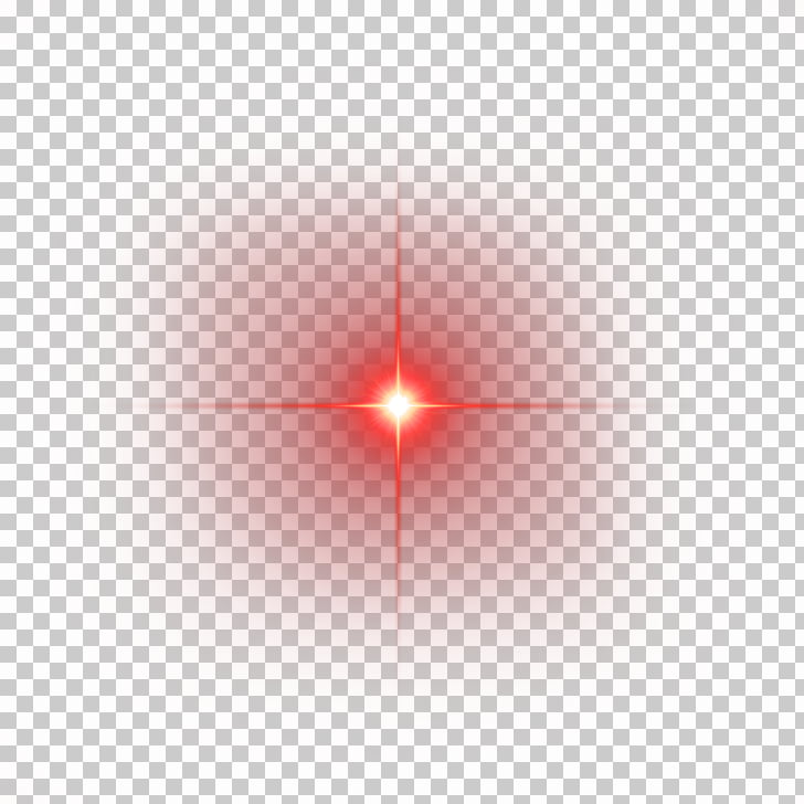 Light Line Angle Point Red, Red shine light effect element.