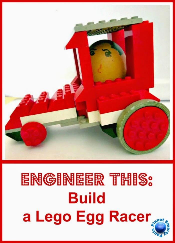 Lego Egg Racers.