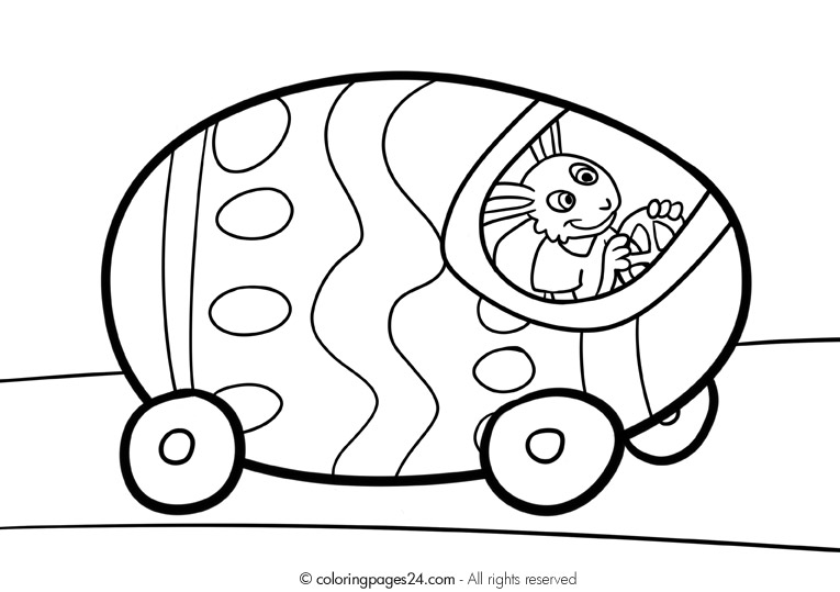 Clipart Egg Car.