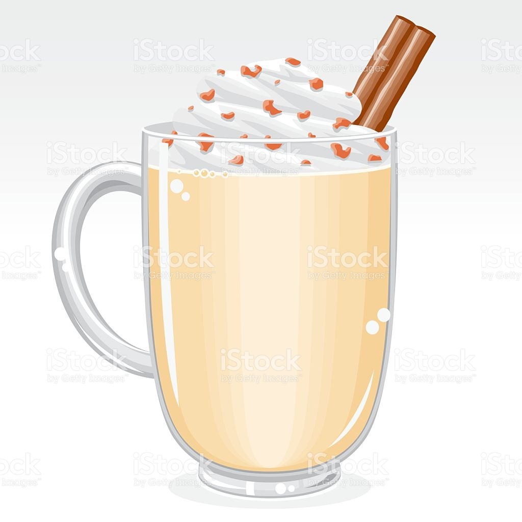 Eggnog stock vector art 472287875.