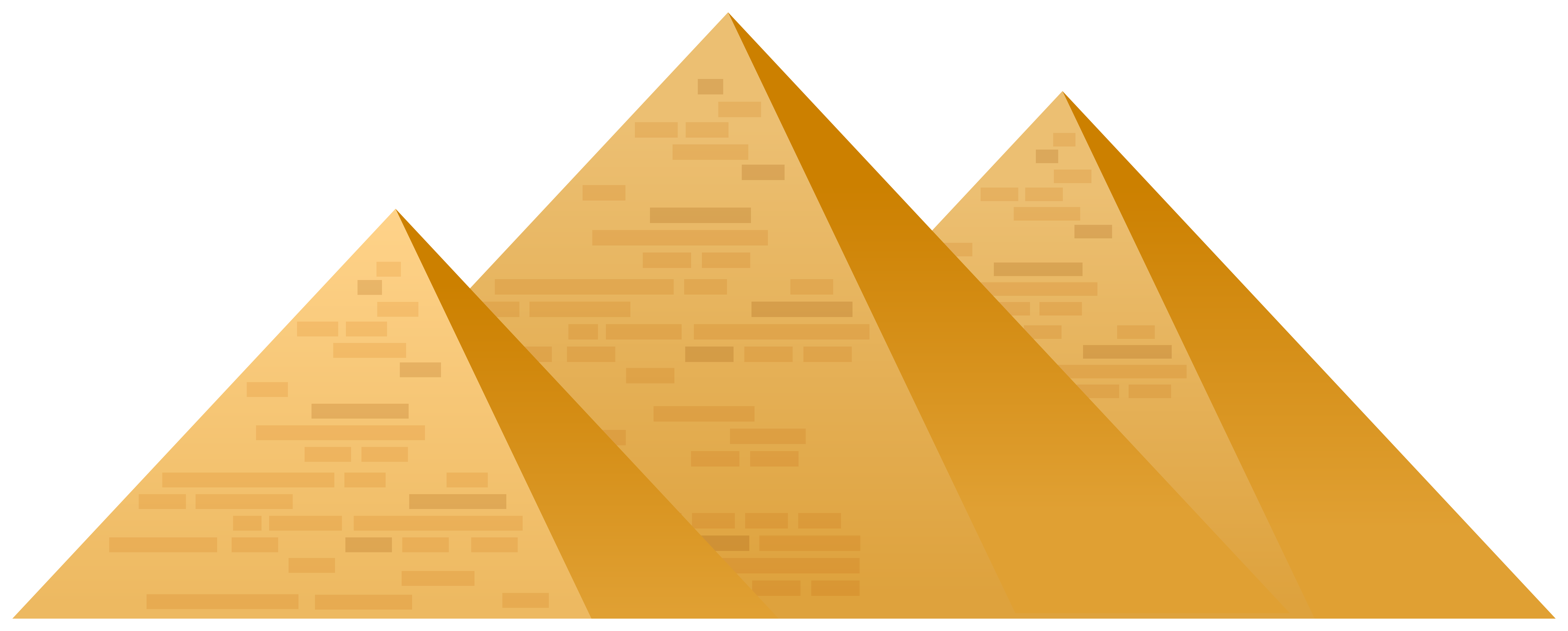 Egypt Pyramids PNG Clip Art.
