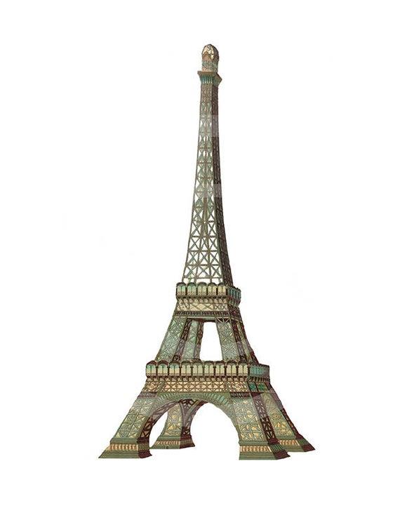 Eiffel Tower Clip.