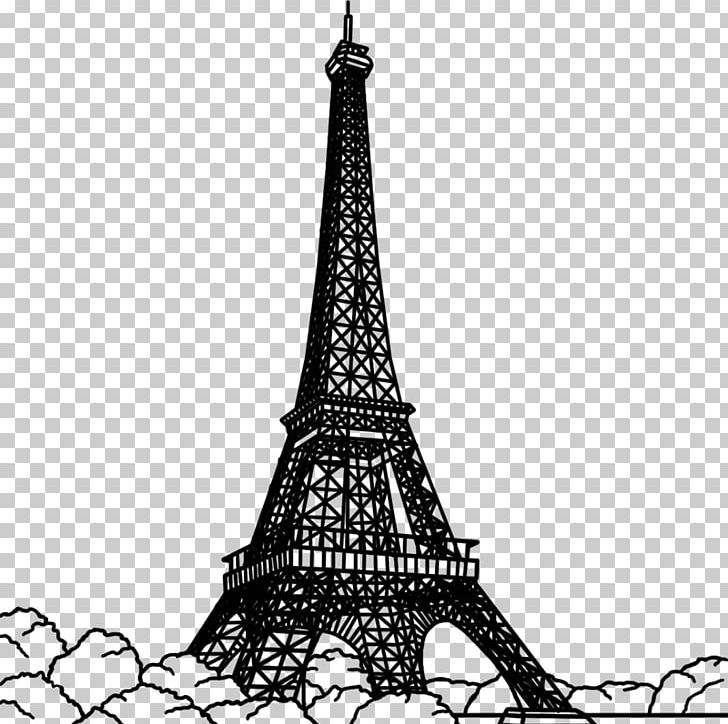Eiffel Tower Black And White PNG, Clipart, Black And White, Desktop.
