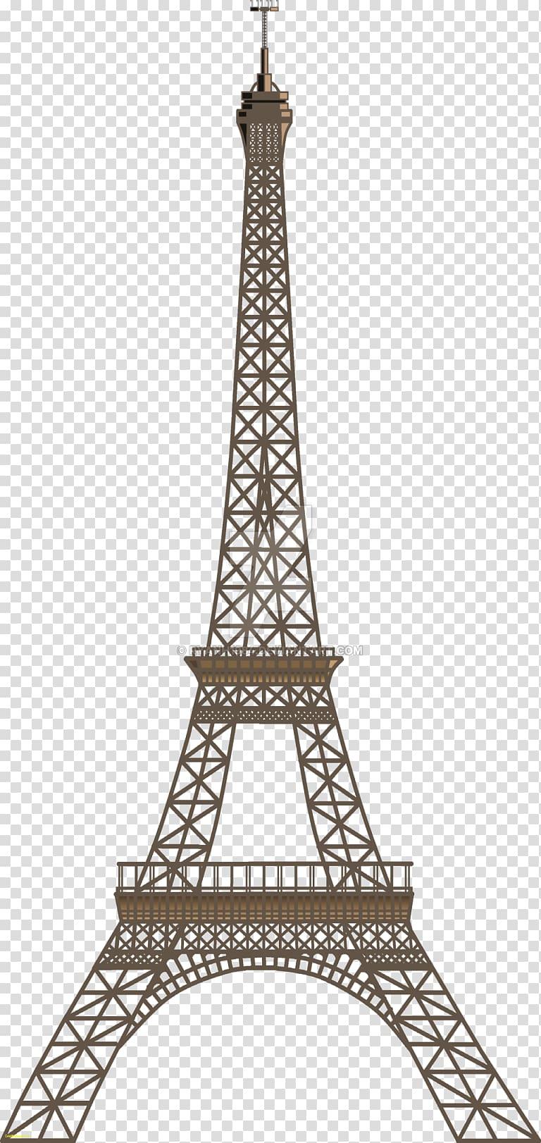 Eiffel Tower Champ de Mars , tower in paris transparent.