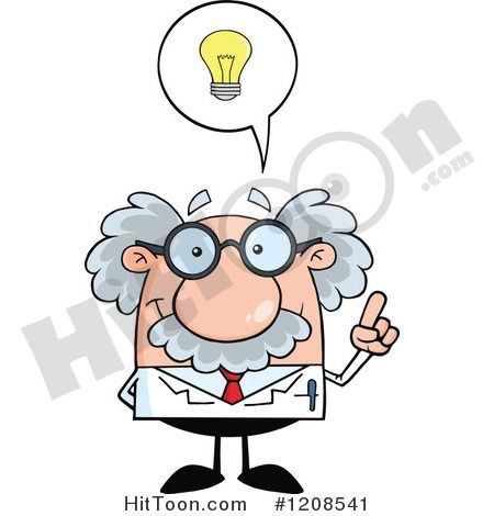 Albert Einstein Clipart #1.