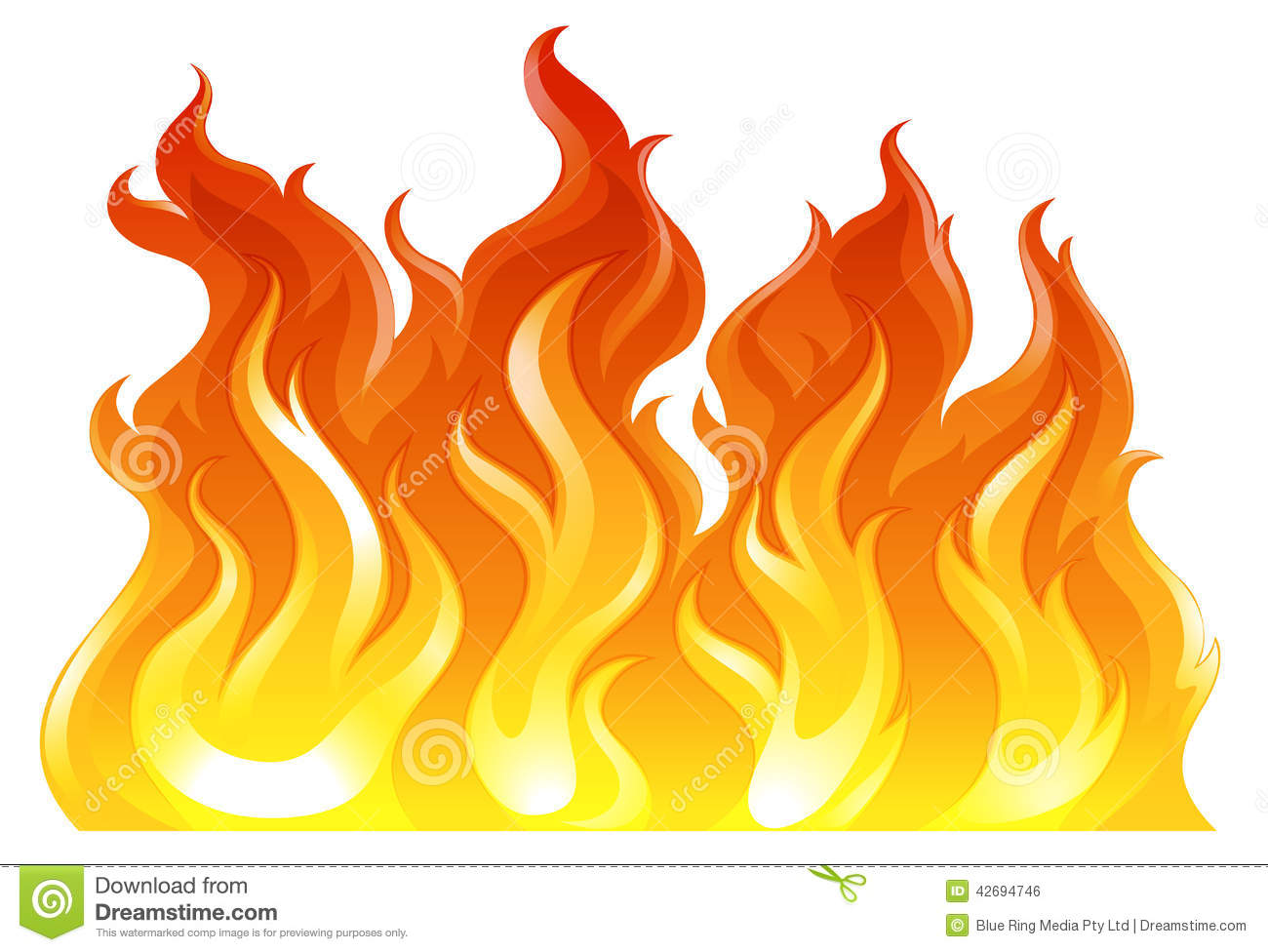A fire stock vector. Illustration of process, fire, illustration.
