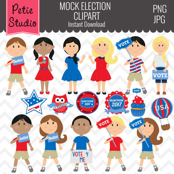 Election Clipart and Student Council Clipart.