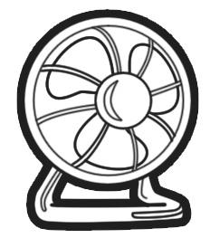 Electric Fan Clipart.