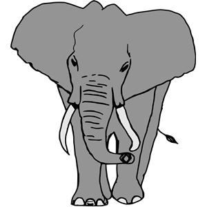 Elefante clipart, cliparts of Elefante free download (wmf, eps, emf.