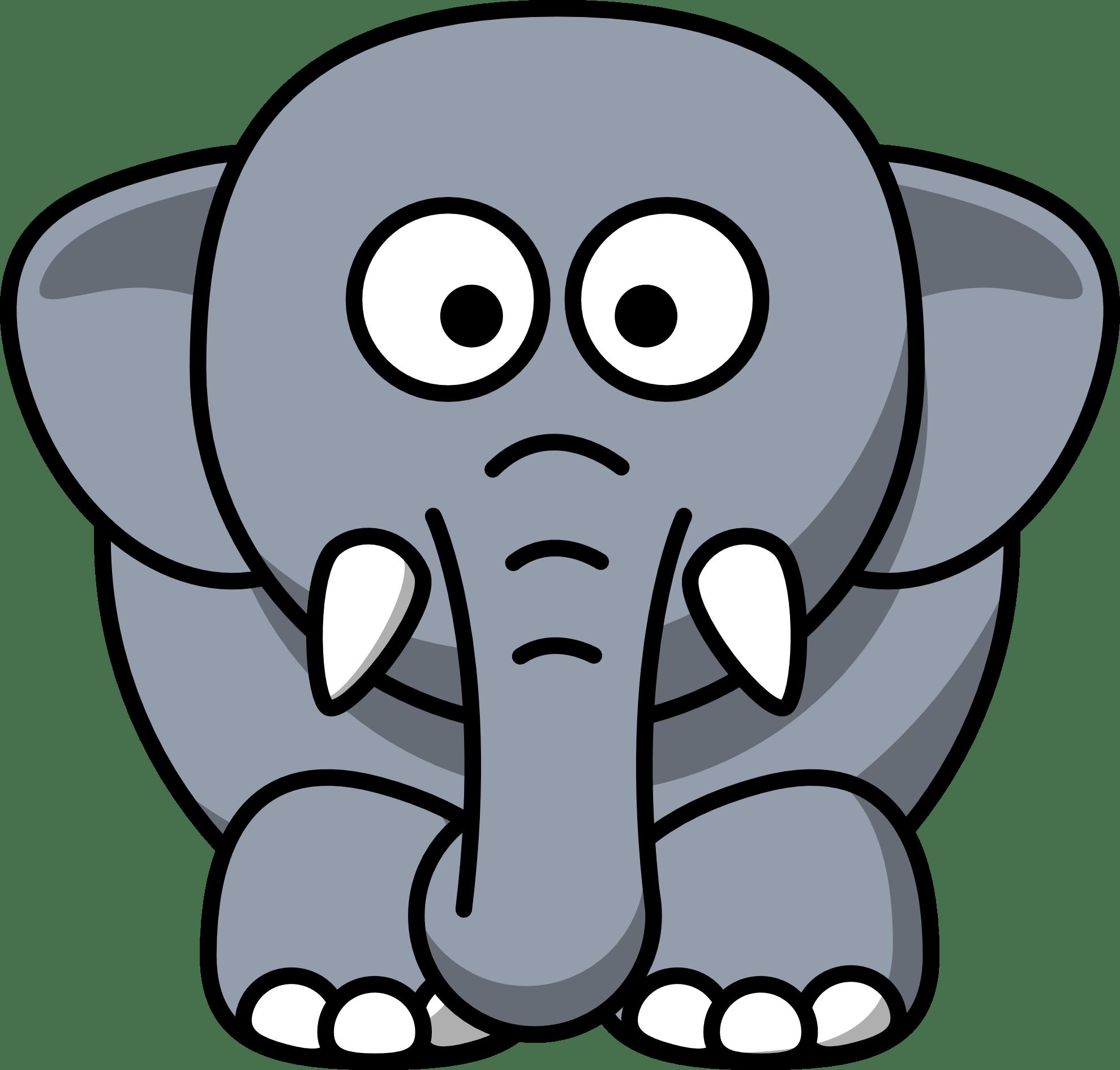 Clipart elefante 2 » Clipart Portal.