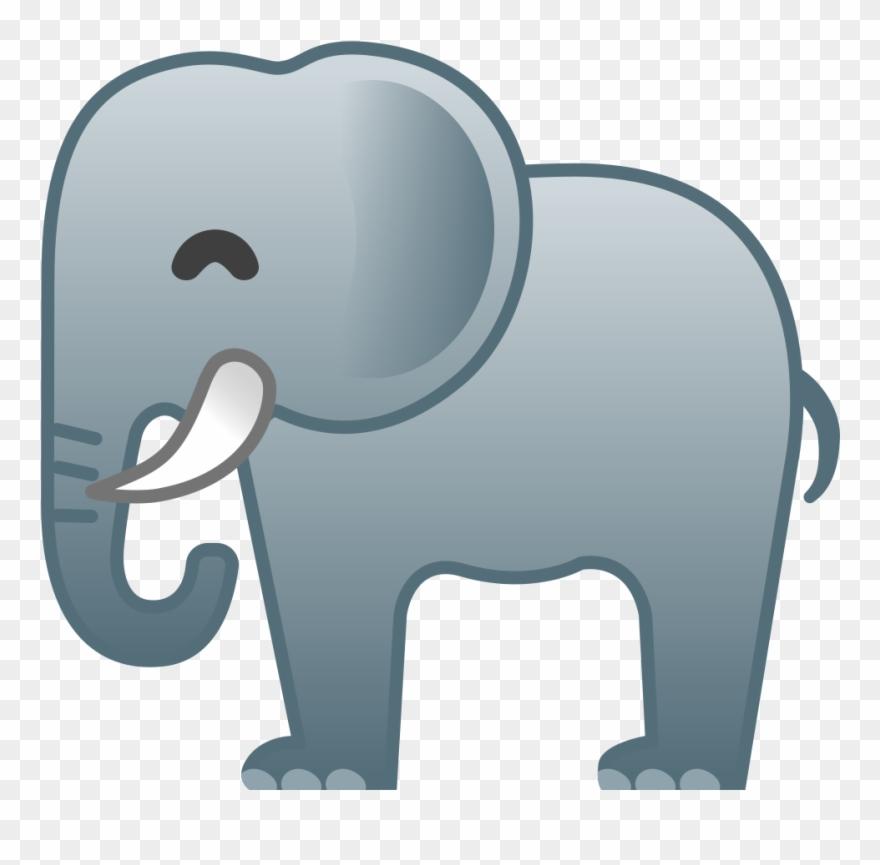 Elephant Icon.