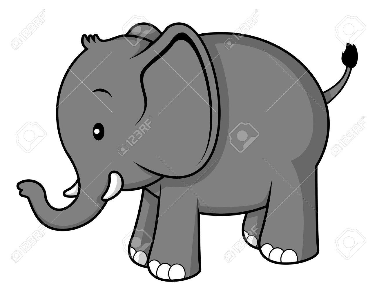 Elefante clipart 6 » Clipart Station.