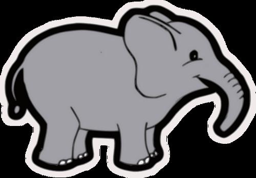 Elefante clipart 1 » Clipart Station.