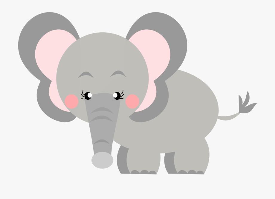 Safari Clipart Baby Elephant.