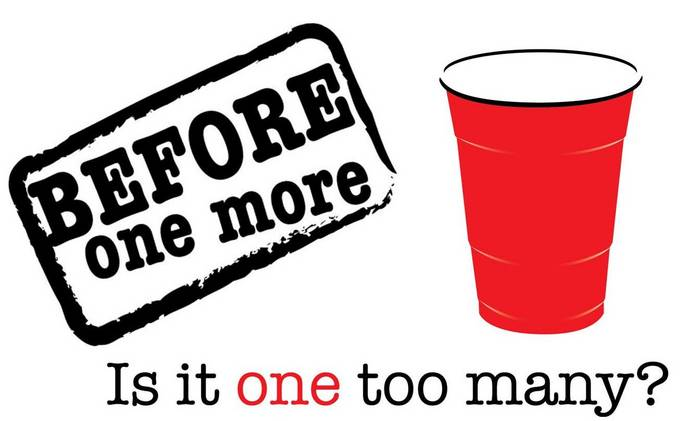before one more is it one too many? You need to be asking yourself.