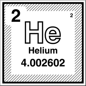 Clip Art: Elements: Helium B&W I abcteach.com.