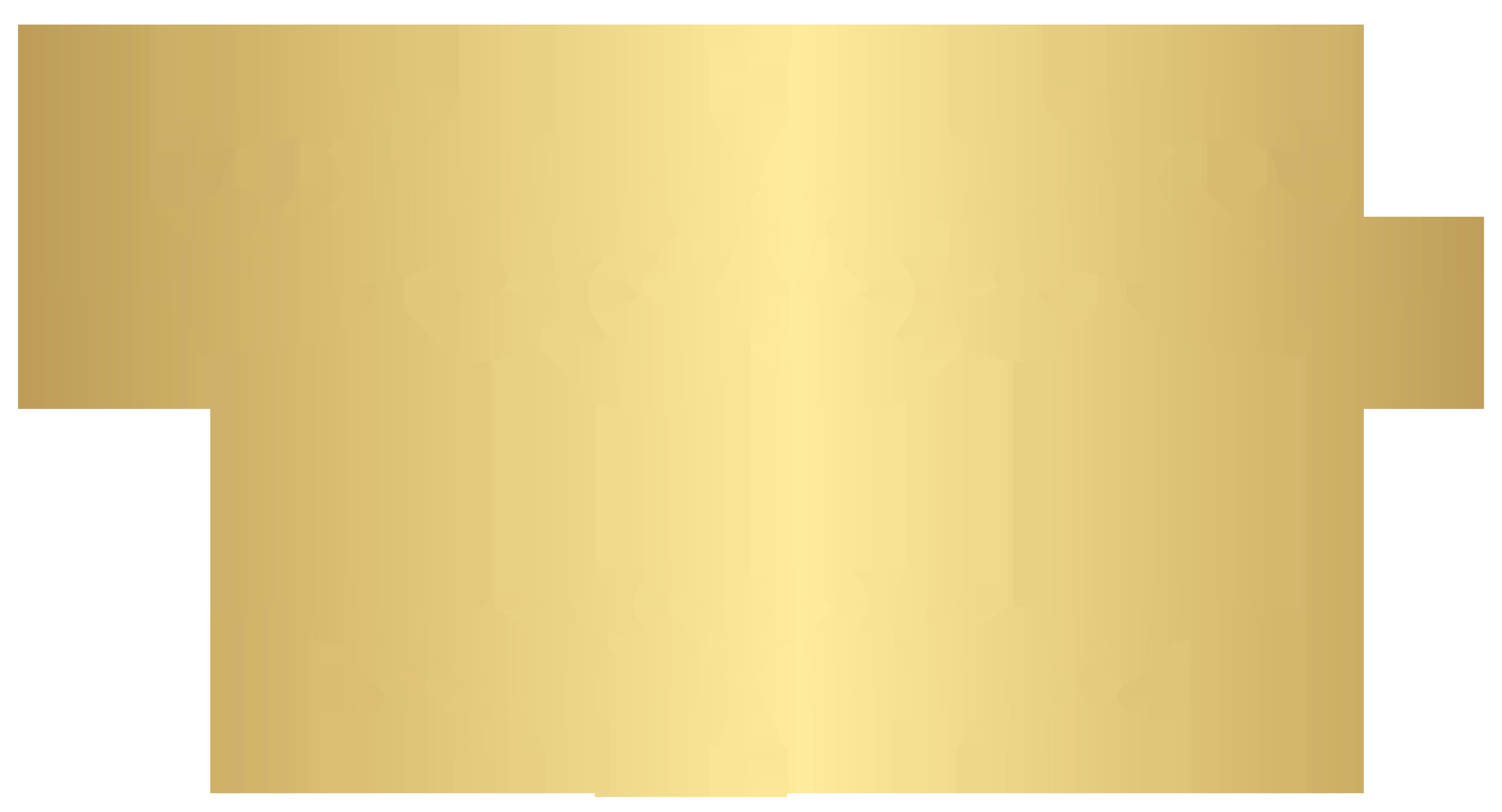 Gold Element PNG Clip Art.