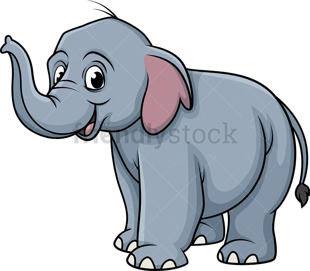 Smiling Elephant.