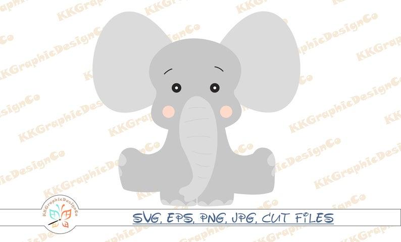 Baby elephant svg Elephant svg Elephant clip art Elephant clipart Elephant  png Elephant baby svg Baby elephant vector Elephant vector.