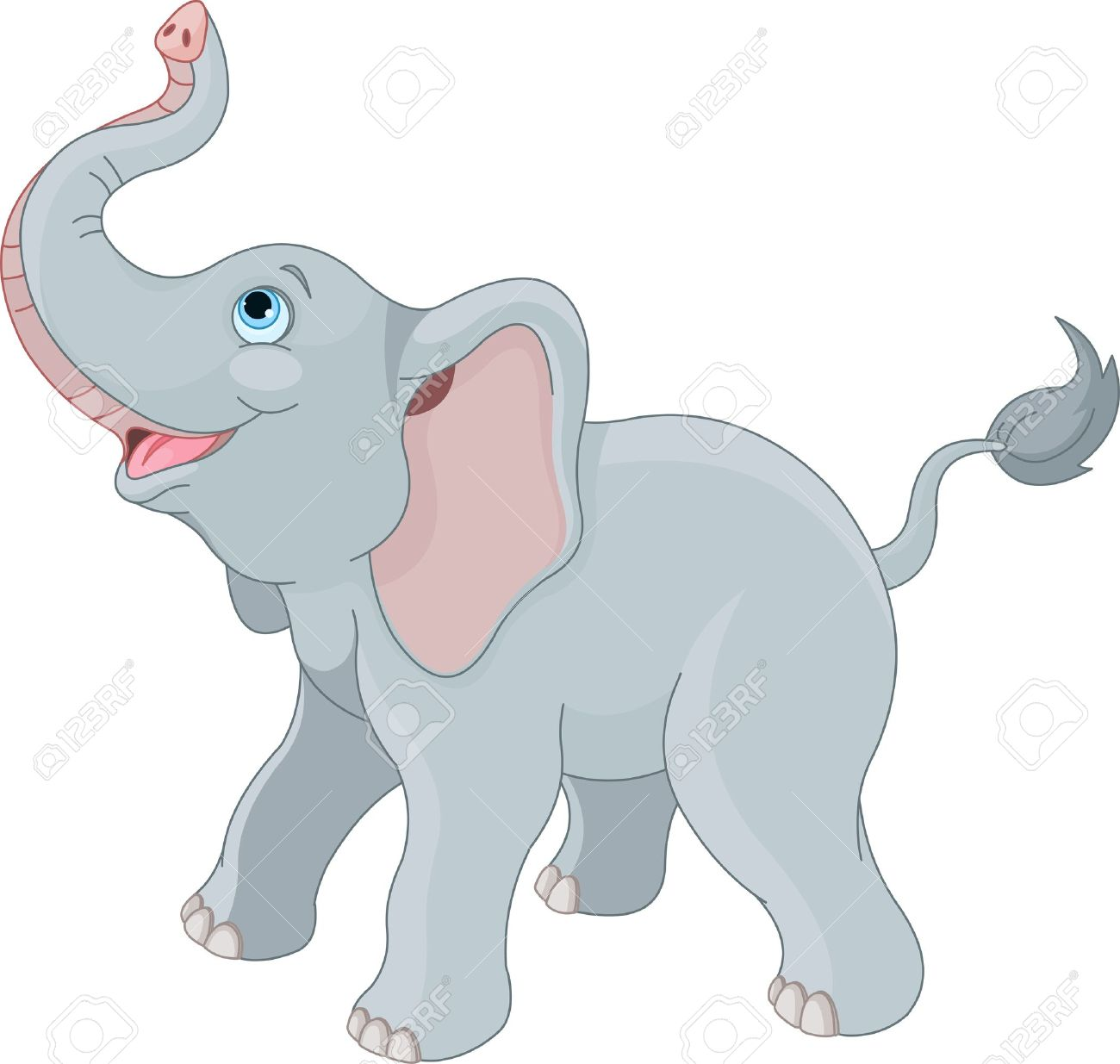 Elephant trunk clipart 6 » Clipart Station.