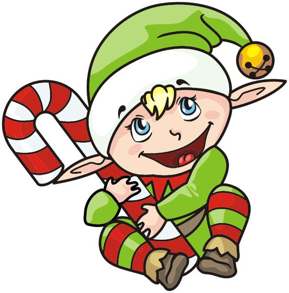 Christmas Clipart Elf On The Shelf.