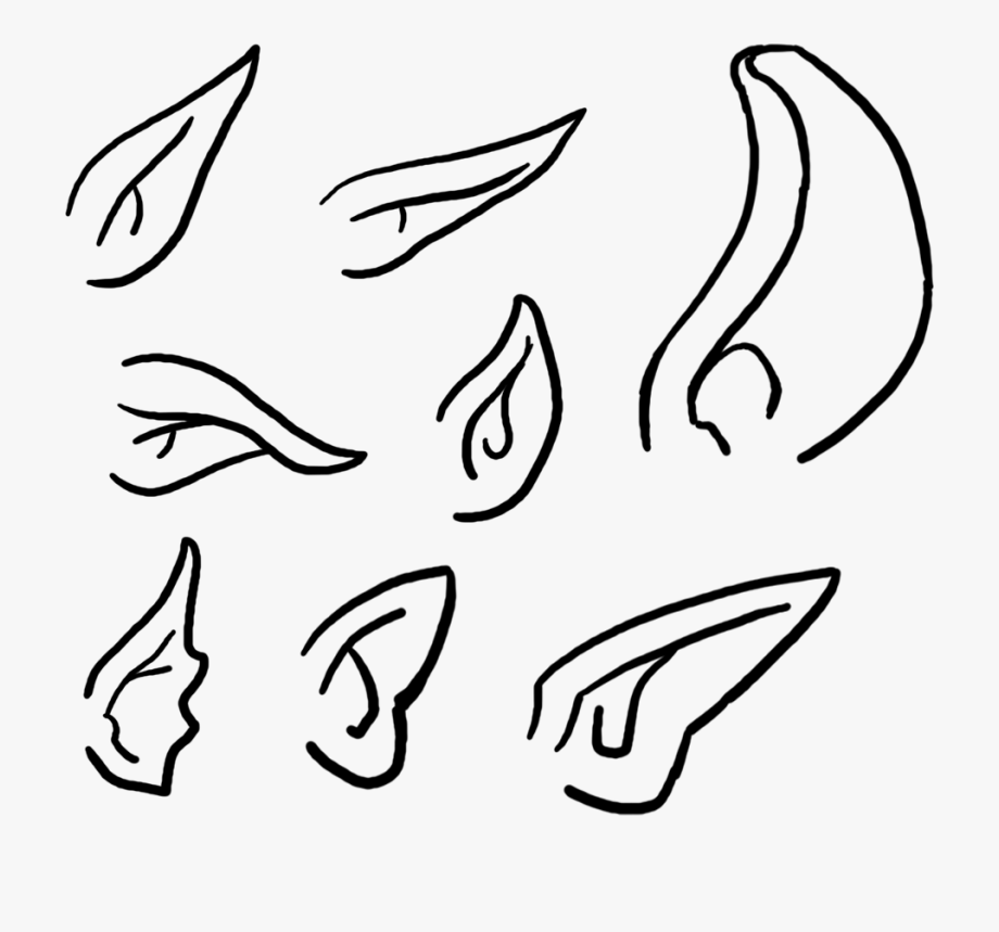 Clipart Elf Ears.