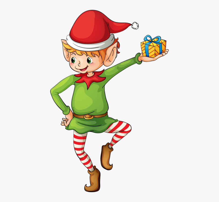 Country Clipart Elf.