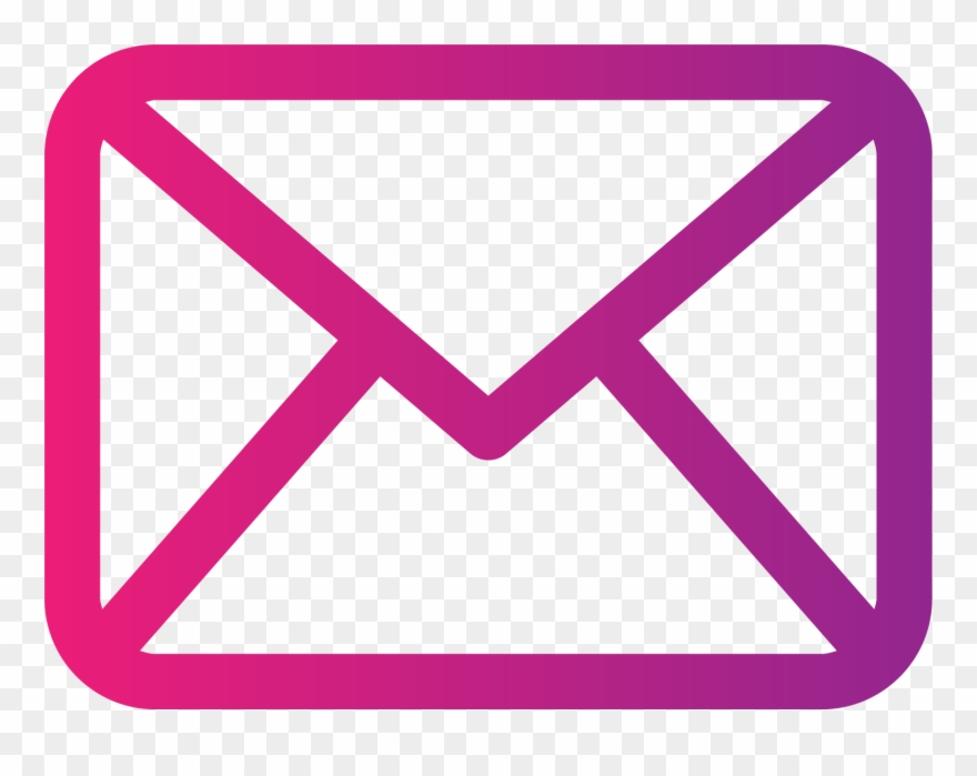 Pink Clipart Email.