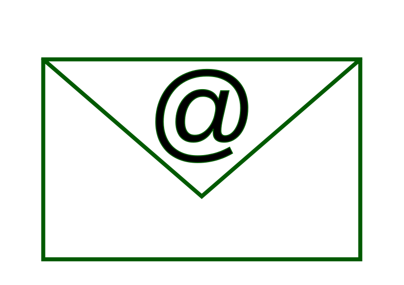 Free Clipart: Email.Simple_5.