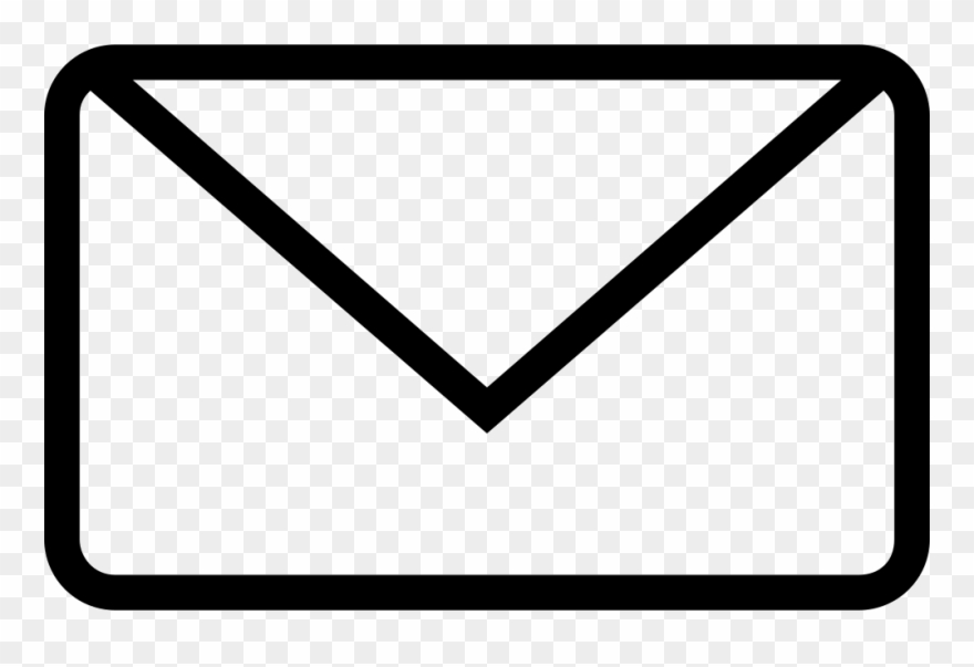 White Email Symbol Transparent Clipart Email Address.