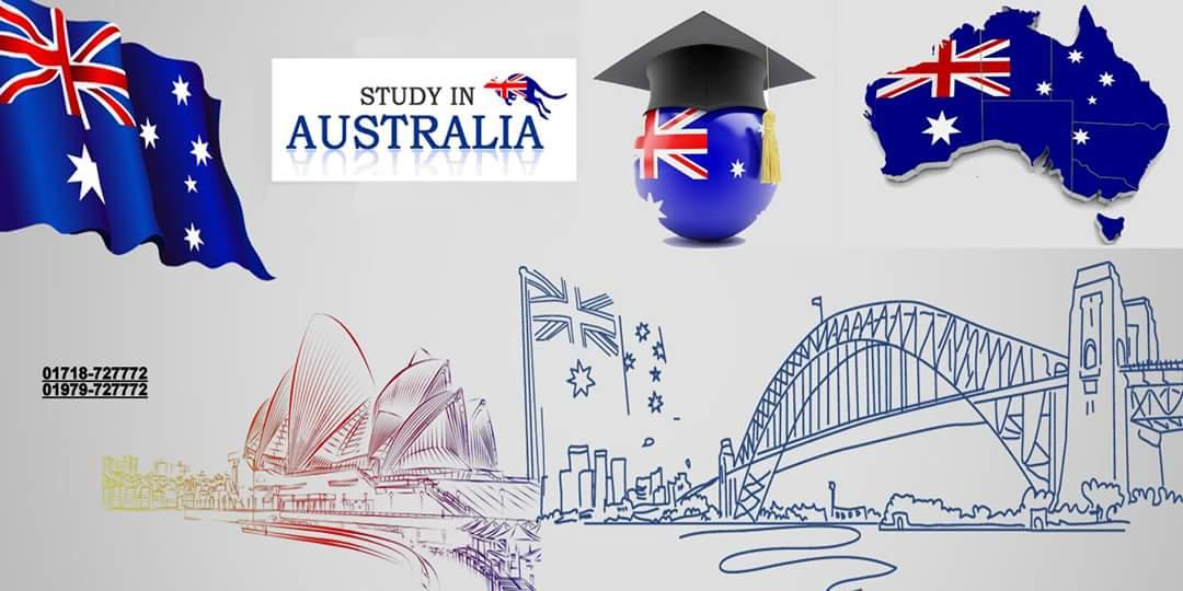 Study in Australia.