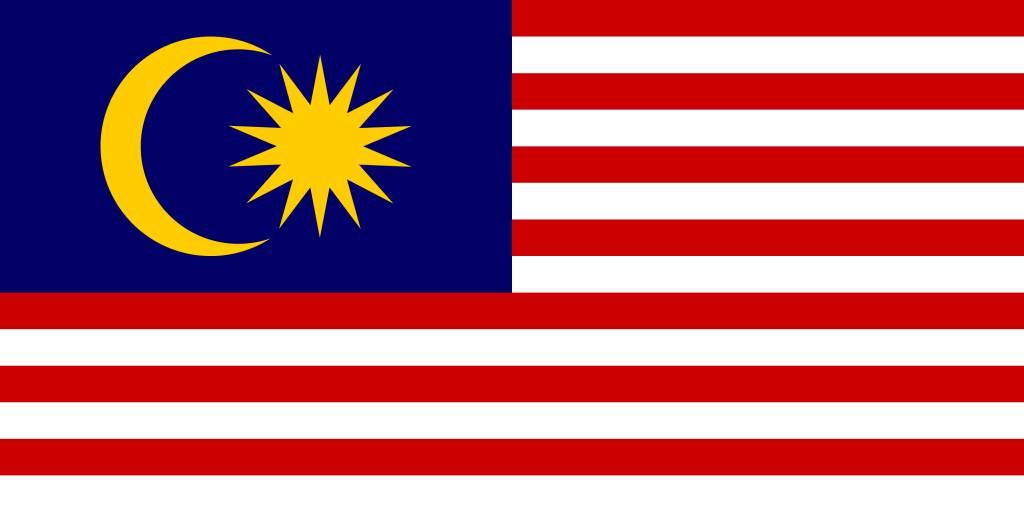 Malaysia flag vector.