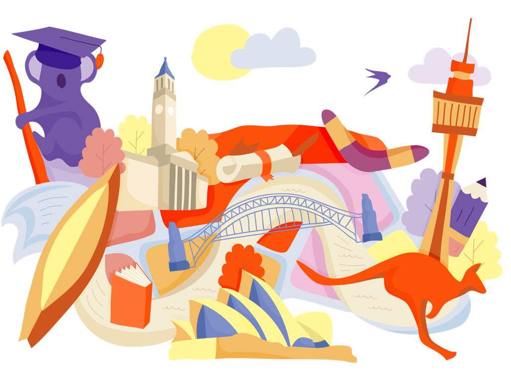 Study Abroad in Australia.