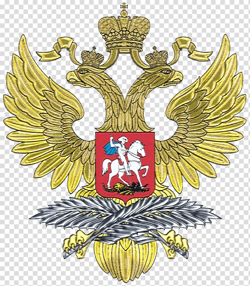 Embassy of Russia in Washington, D.C. Coat of arms of Russia.