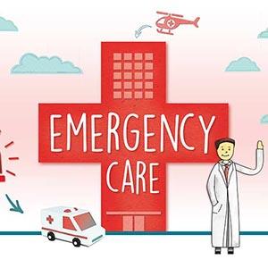 Emergency clipart er room, Emergency er room Transparent.