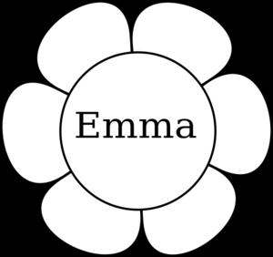 Emma Window Flower 1 Clip Art at Clker.com.