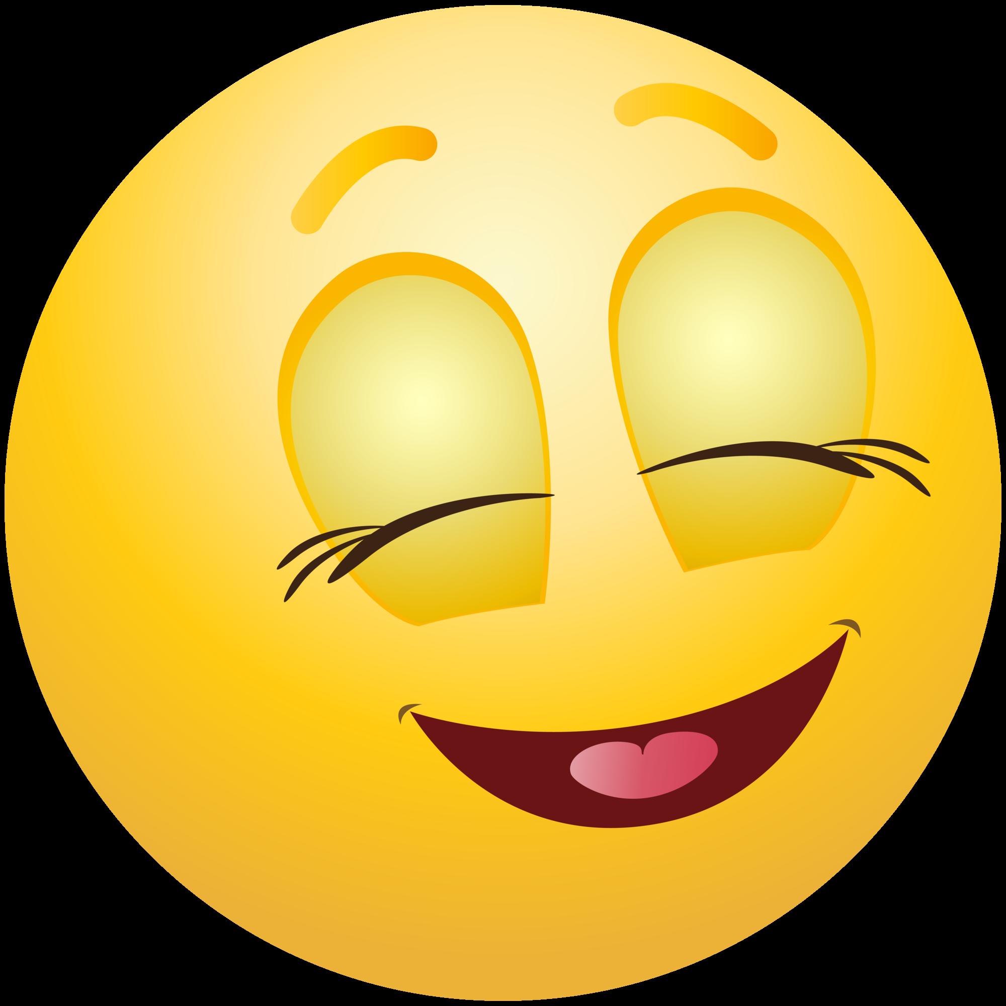 Pleased Emoticon Emoji Clipart Info.