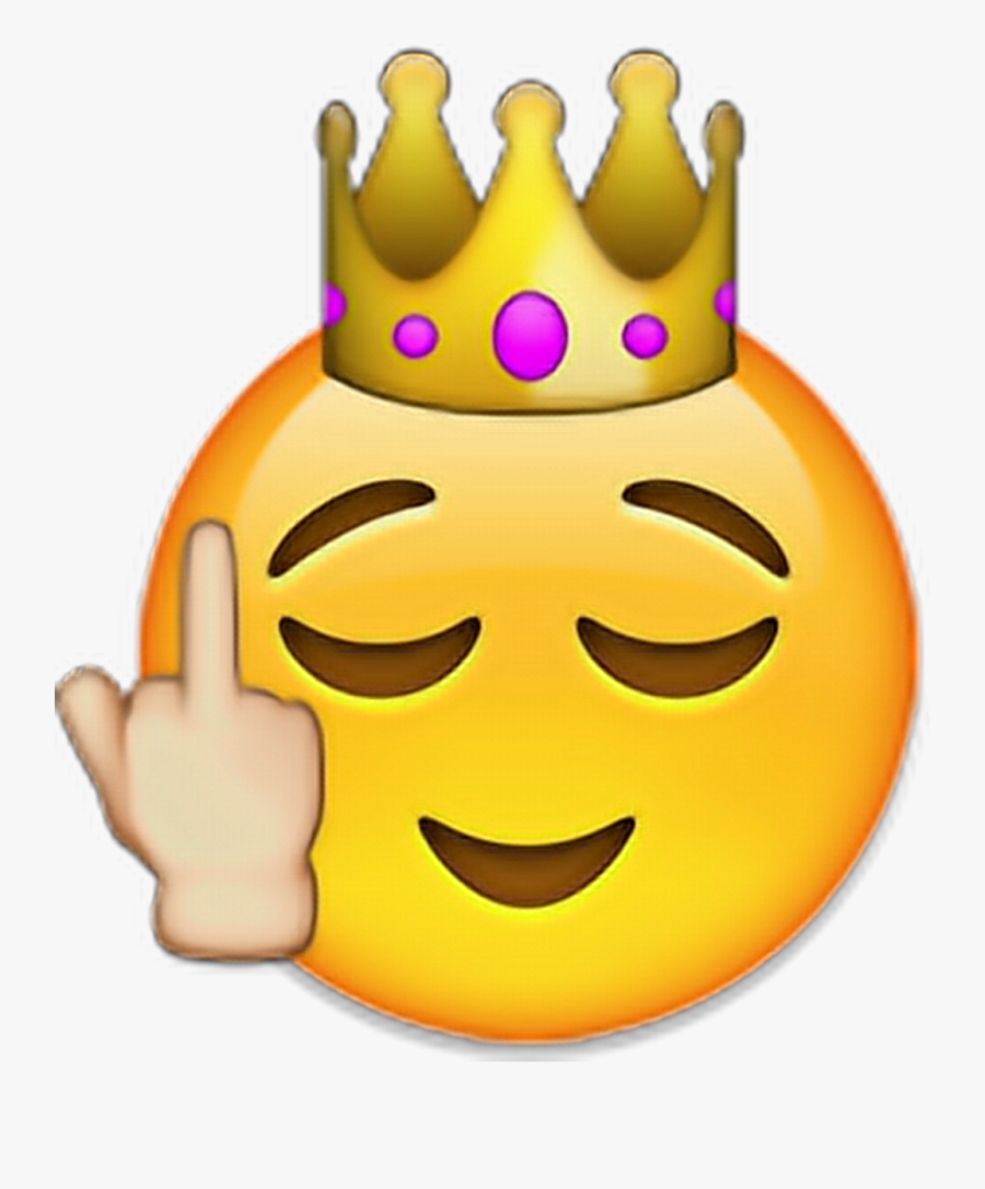 Crown Iphone Emoji Clipart , Png Download.