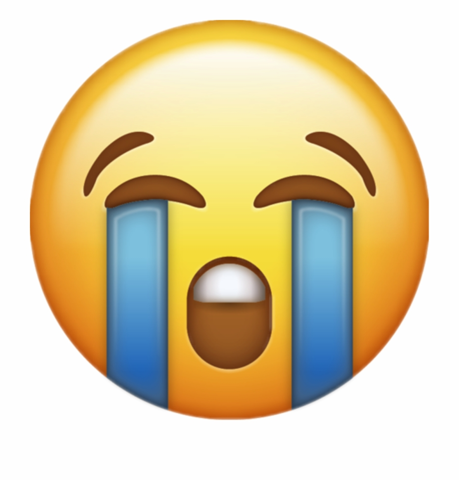 Download Loudly Crying Iphone Emoji Jpg Emojis Png.