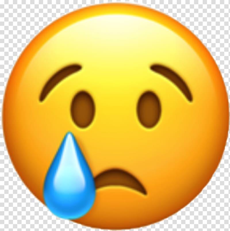 Crying emoticon, World Emoji Day WhatsApp Emoticon Crying.