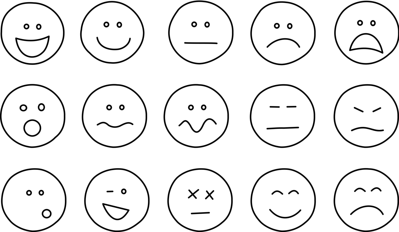 Emotion,Monochrome Photography,Text Vector Clipart.