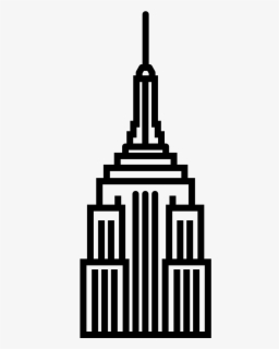 Free Empire State Building Clip Art with No Background.