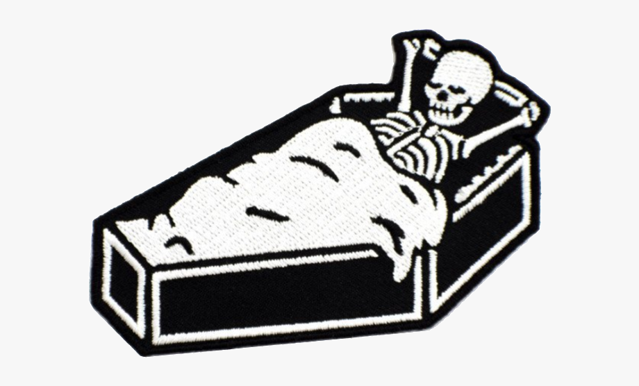 Coffin Clipart Empty.